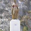 Statue géante de la Sainte Vierge