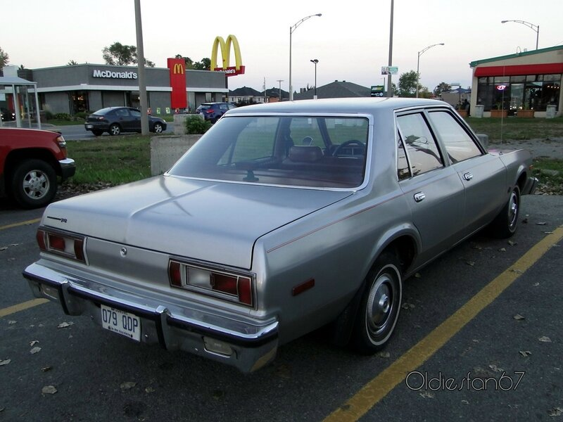 plymouth volare sedan 1978 1979 b