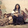 NATURALISME 1883_Enfants mendiants_Pelez