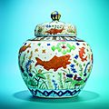 Christie's presents the distinguished le cong tang collection to lead the november sale of chinese ceramics & works of art