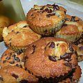 Muffins poire - pépites de chocolat