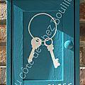 Boite à clefs personnalisée