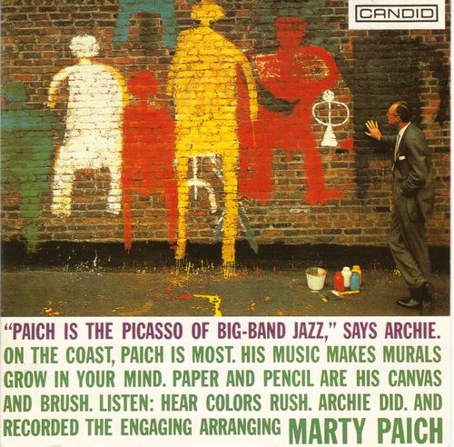 Marty Paich - 1957 - Paich is The Picasso Of Big-Band Jazz (Candid)