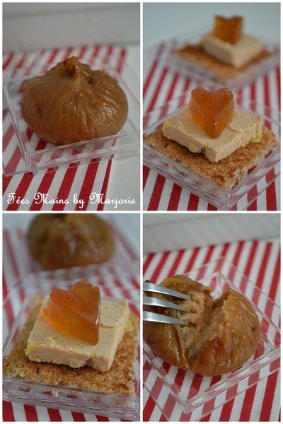 Foie gras coeur gelée Monbazillac
