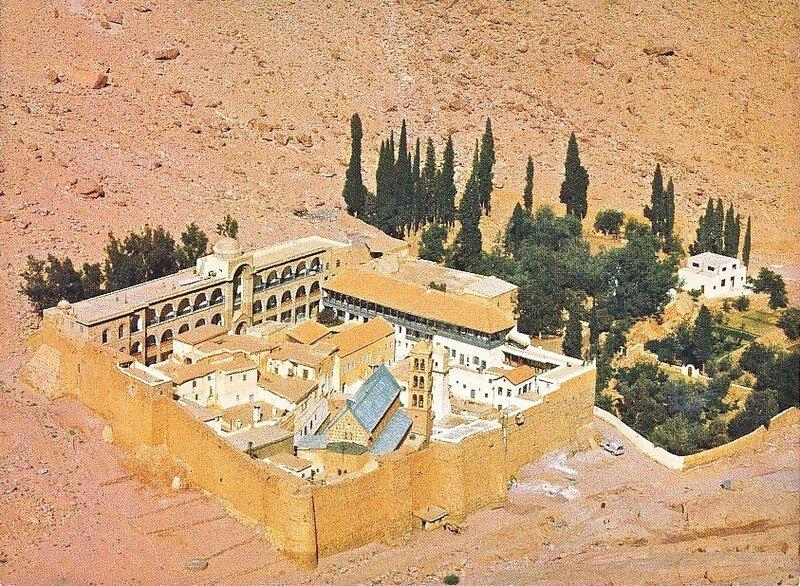 CPM Mont Sinaï Monastère Sainte-Catherine
