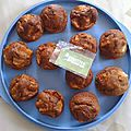 Muffins aux pommes/carambars