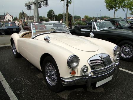 mga 1600 roadster 1959 1962 rencard de haguenau 1