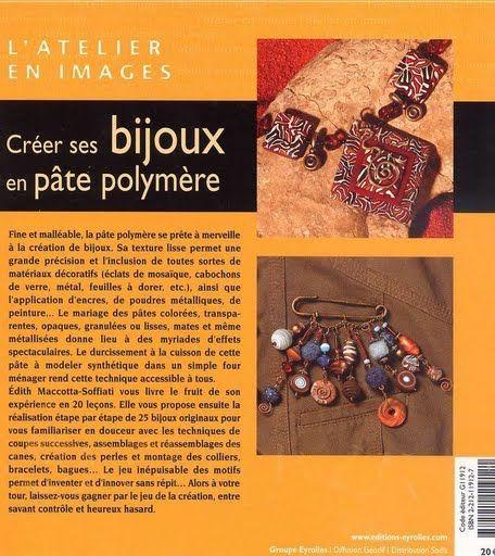 créer ses bijoux en pâte polymère volume 1 dos