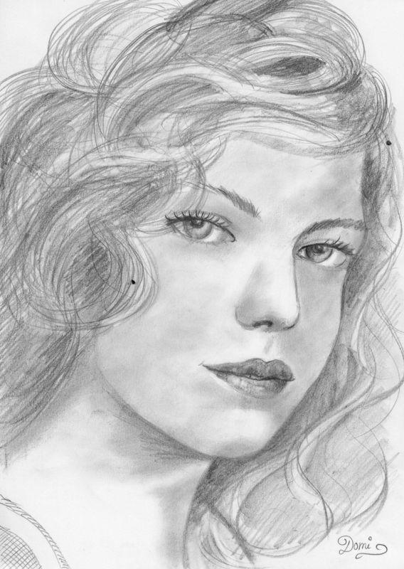 Assez Comment dessiner un PORTRAIT - Domi Dessins et Peintures JH61