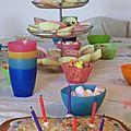 Des fairy cakes pour ses 6 ans... et une recette pour vous!
