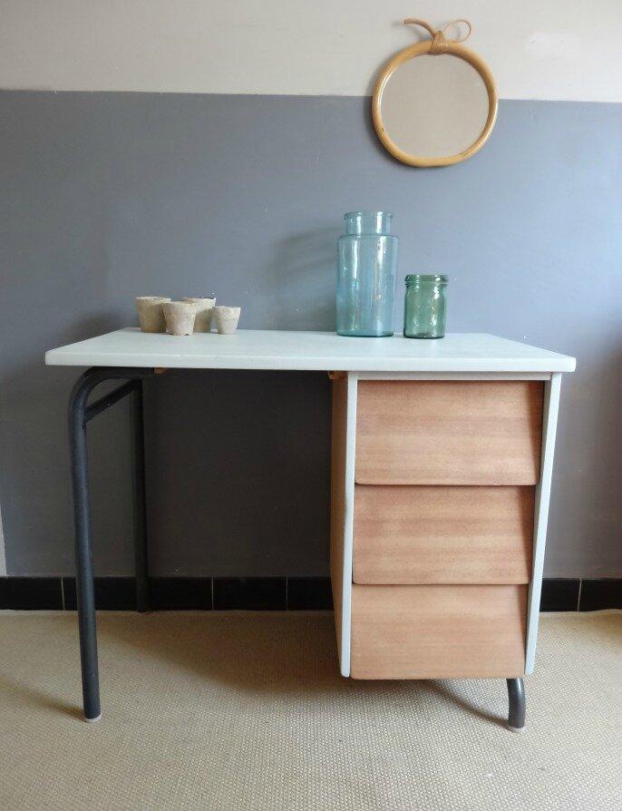 bureaux d 39 cole pour petits et grands banaborose reinventeur de meubles et objets chin s. Black Bedroom Furniture Sets. Home Design Ideas