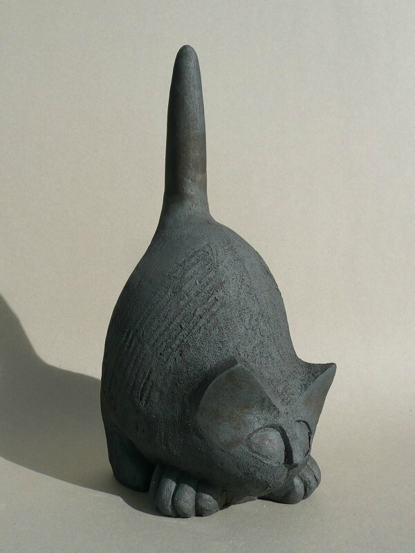 christian pradier - chat-noir