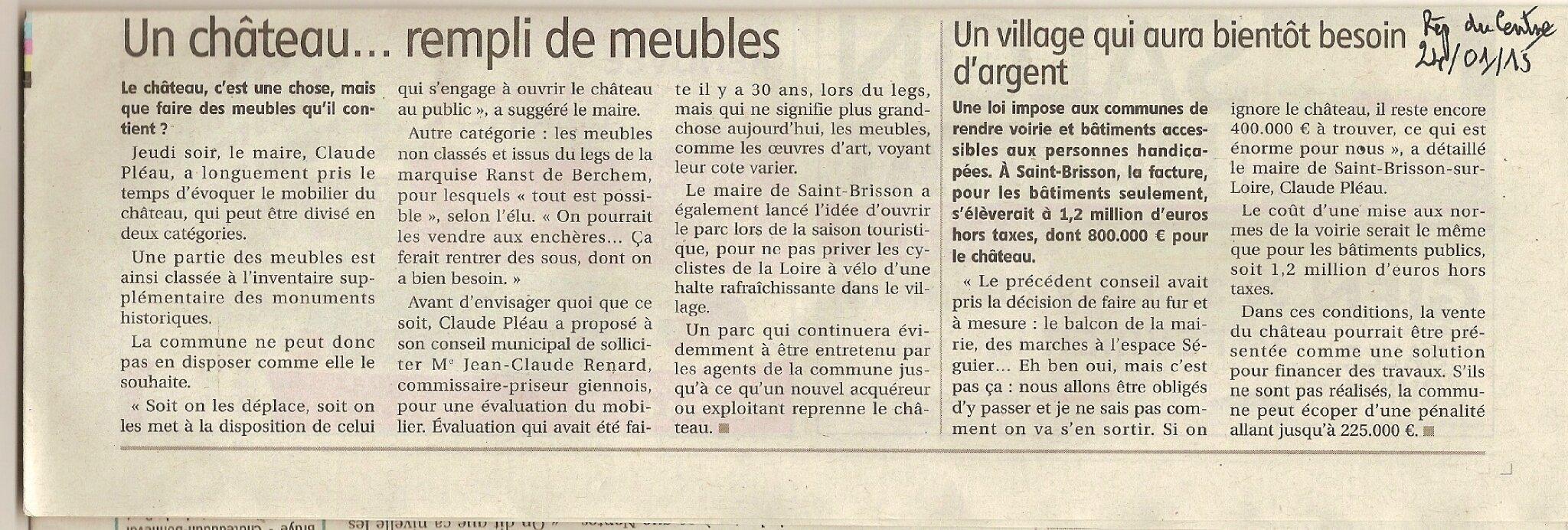 article Rèp Mobilier Château de Saint-Brisson 240115 (1)