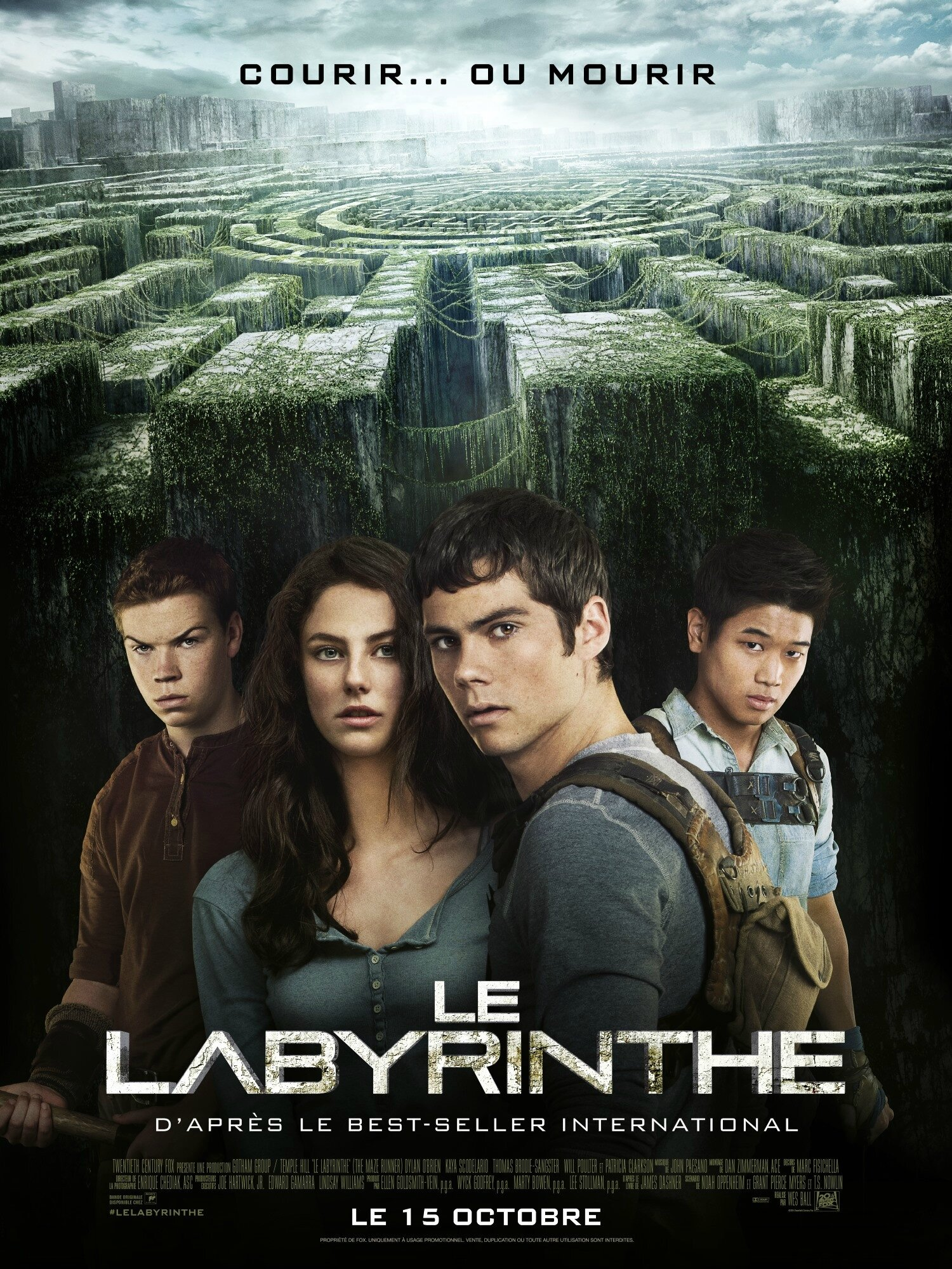 Le Labyrinthe [Le Film] de Wes Ball