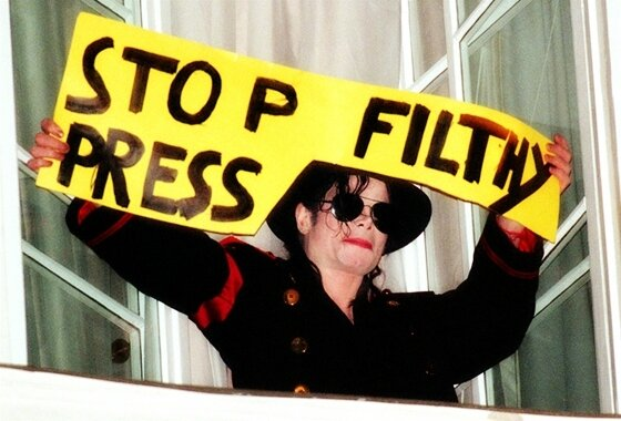 MJ-Stop-Filthy-Press 1998 hotel
