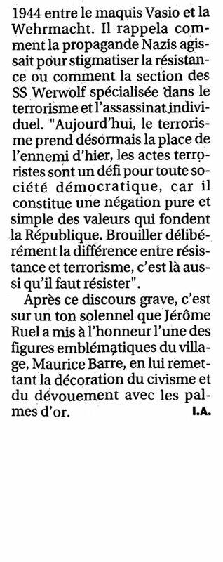 La Provence 20.08.2016