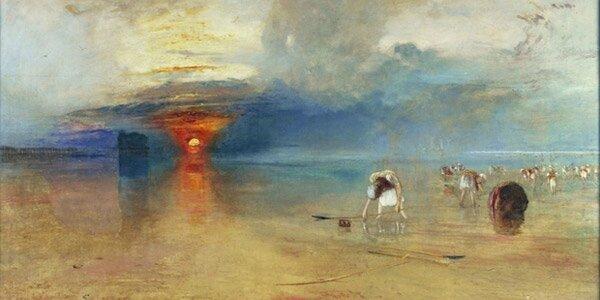 Turner La plage de Calais