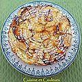 Gâteau très pommes et ricotta comme chez carole