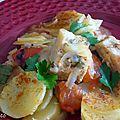 Marmite de morue a la tomate