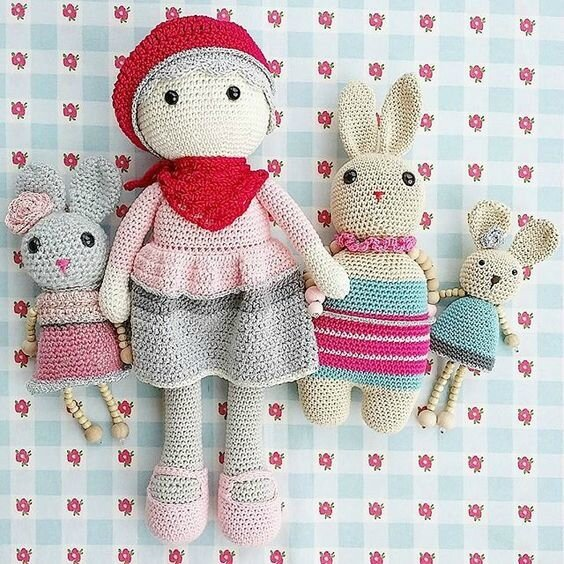 vanillejolie poupée crochet