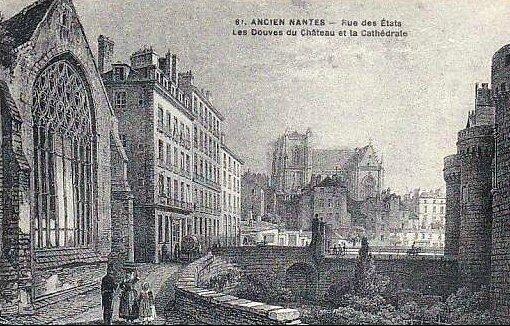 Ancien Nantes - Rue des Etats