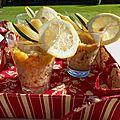 Verrines au quinoa et fenouil citronné