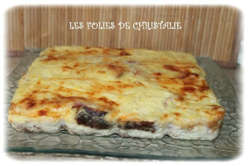 Croque cake raclette 1