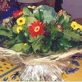 art floral - bouquet rond