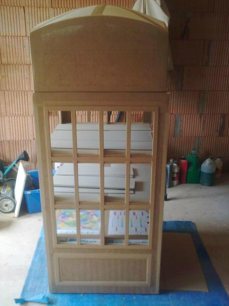 Quatre ans et demi apr s une autre vie pour le carton - Meuble cabine telephonique anglaise ...
