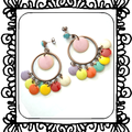 Boucles d'oreilles - Melting Pot