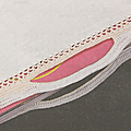 Les accessoires au crochet #9 : le sac crème