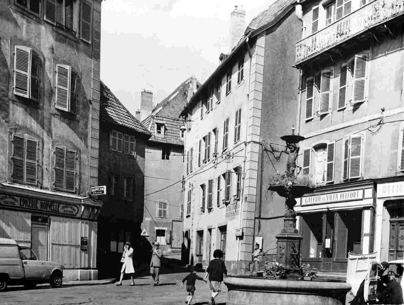 Photo Place Grande Fontaine 1950-60