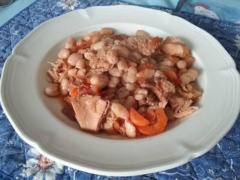 Tripes aux haricots blancs et carottes à la marocaine