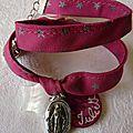 Bracelet Couronnée d'Etoiles (et médaille gravée)