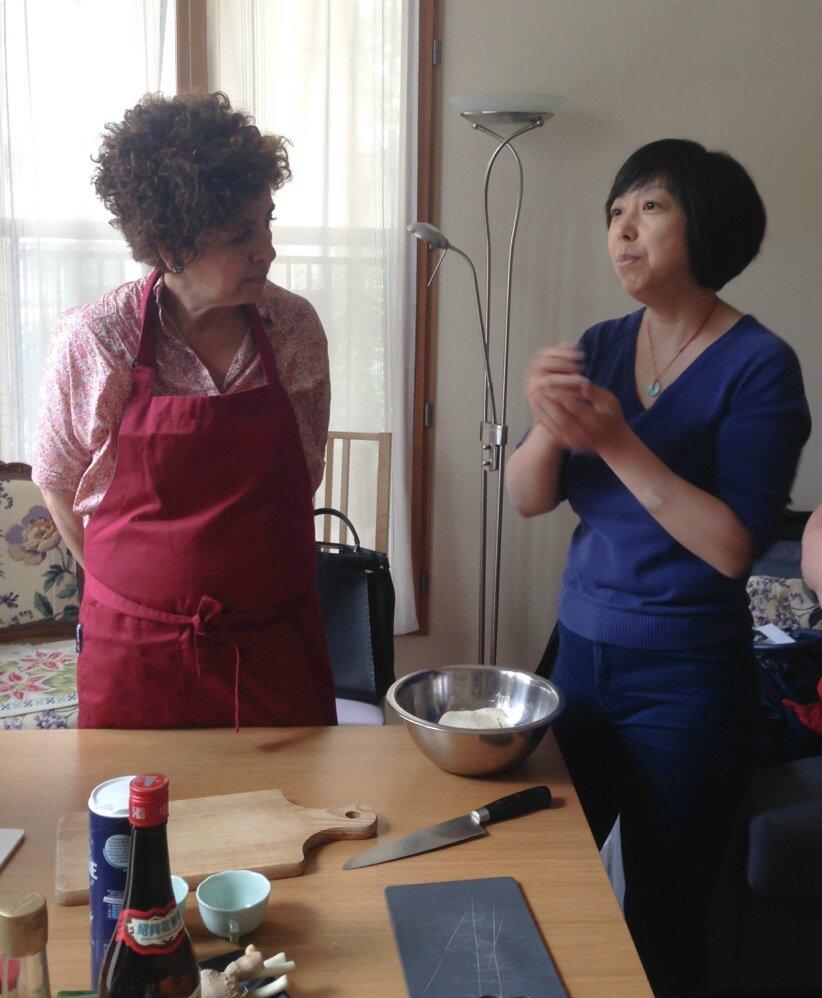 Cours de baozi la brioche chinoise qui fond dans la for Apprendre cuisine chinoise