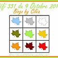 Défi 331 du 9 octobre 2017 - cartes de ciléa, batchaka et scrapacrolles