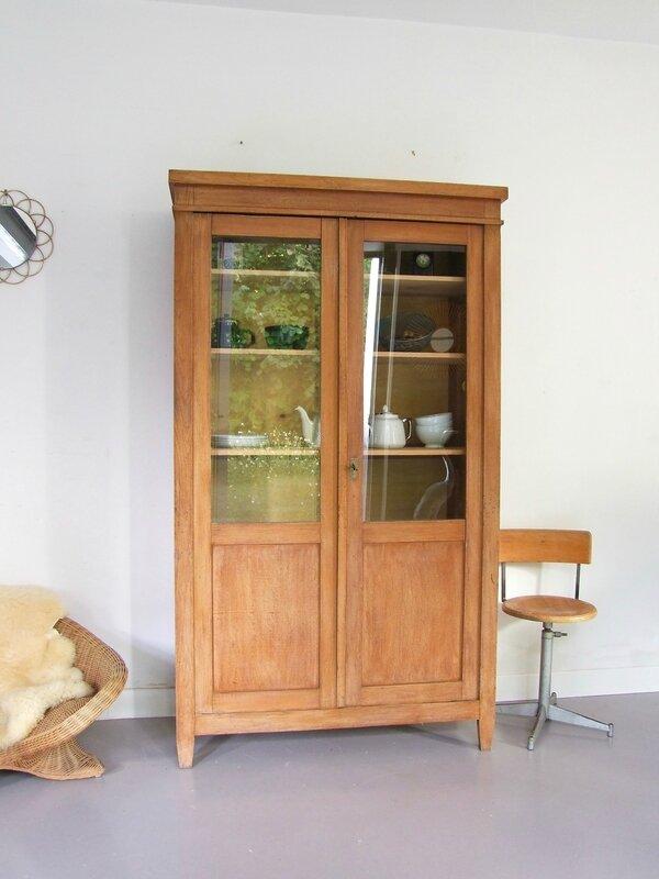 armoire-vaisselier vintage