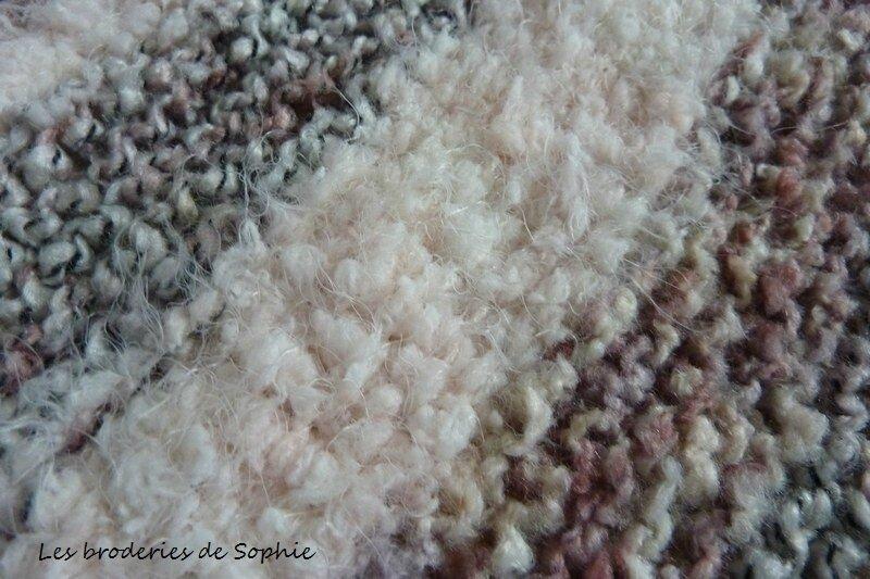 Couverture laine Urban glam rebel DMC (7)