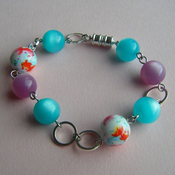 Bracelet goldfish and moonglow - ALIQUO