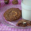 Cookies aux 2 chocolats, coco et noix de martha stewart
