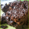 Brownie au nut' avec des nuts caramelisees (ze demolitor ...)