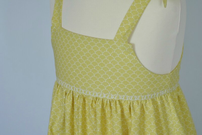 robe rose jaune1