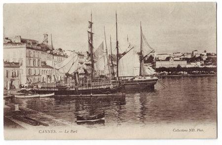 06 - CANNES - Le port
