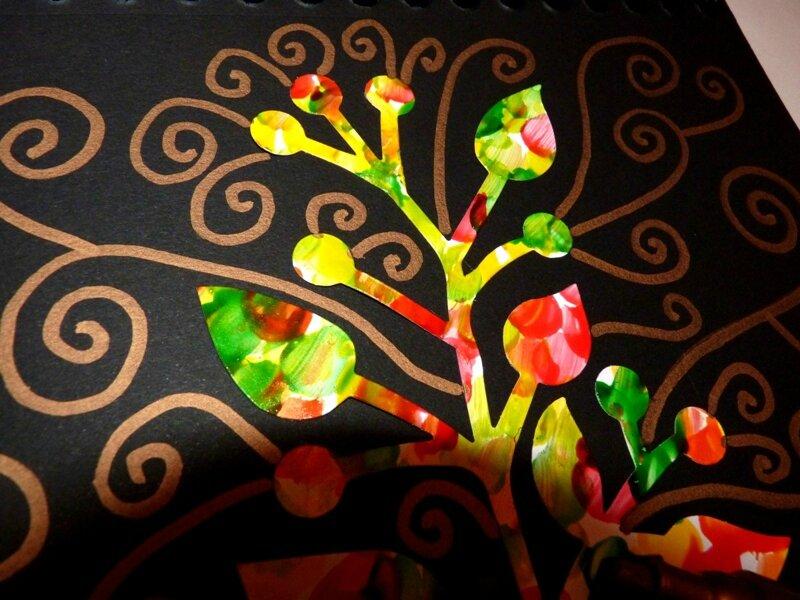 176_Arbres Automne_Trois petits arbres (52)