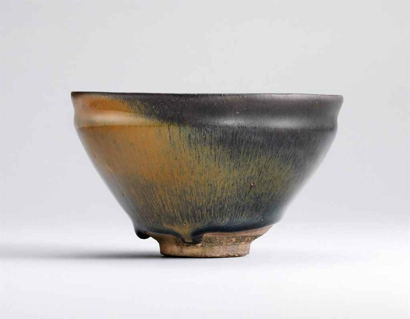 A Jian 'hare's-fur' tea bowl, Southern Song dynasty (960-1279)