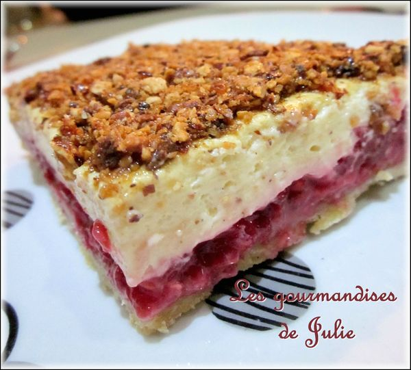 tarte amandes framboises 1