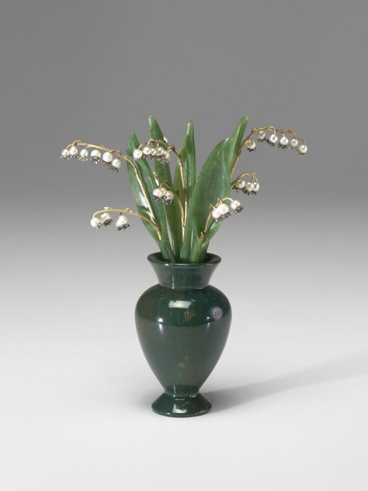 Lilies of the Valley, 1801 - 1947, Fabergé