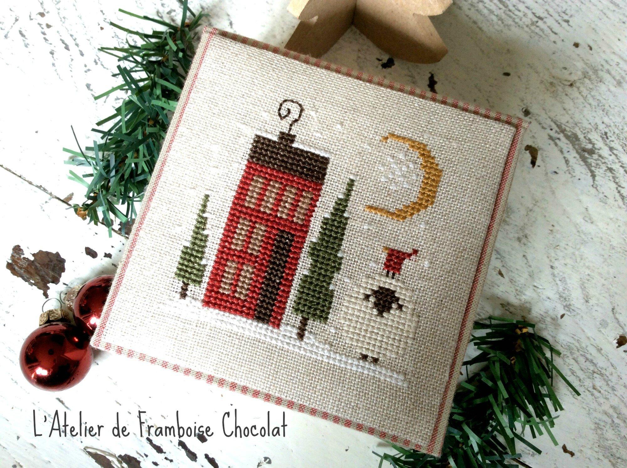 Boîte de Noël_1 L'Atelier de Framboise Chocolat