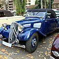 Citroen traction cabriolet 7S de 1934 (Retrorencard novembre 2011) 01