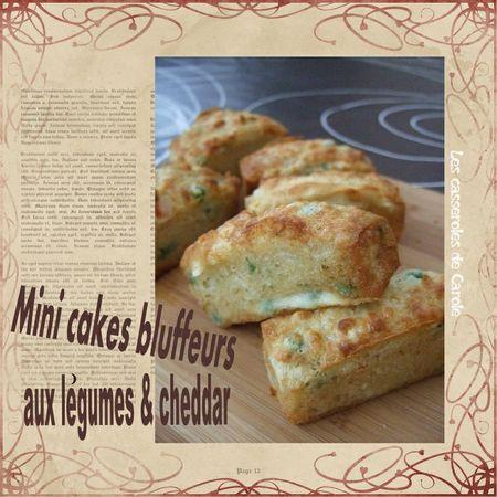 Recette Mini Cake Aux L Ef Bf Bdgumes